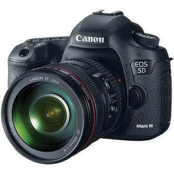 Rent Canon 5D Mark II with EF Zoom Lens  ‑ 24mm‑105mm ‑ F/4.0