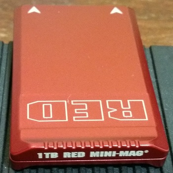 Rent Red 1TB Mini Mag high speed SSD