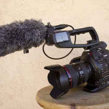 Rent Canon C100 Mark 1 (w/ 24-105mm, Rode NTG1 shotgun mic)