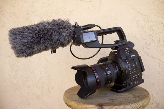 Canon c100 package front