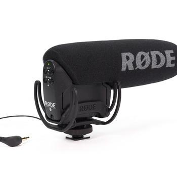 Rent Rode VMPR VideoMic Pro R with Rycote Lyre Shockmount