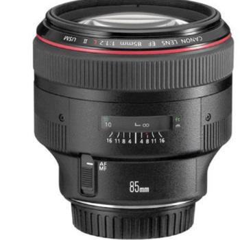 Rent Canon EF 85mm f/1.2 L II