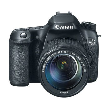 Rent Canon 70D Digital SLR Camera with Stock 18-135mm STM HSM Lens