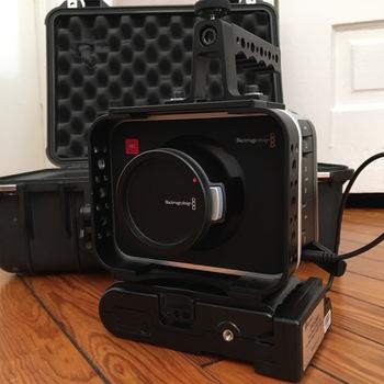 Rent Blackmagic Cinema Camera 2.5k - FULL KIT