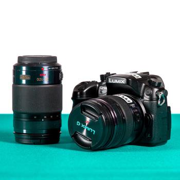 Rent Panasonic Lumix GH4, Lenses