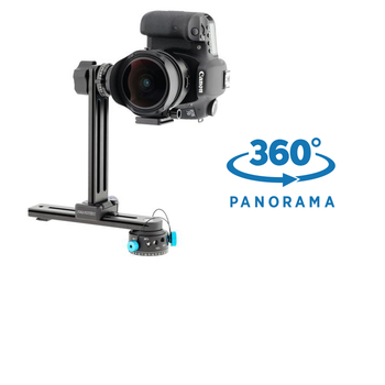 Rent Nodal Ninja NN6 Panoramic Tripod Head with RD10 Advanced Rotator for 360 Spherical Panoramas with EZ Leveler II + Nodal Adapter