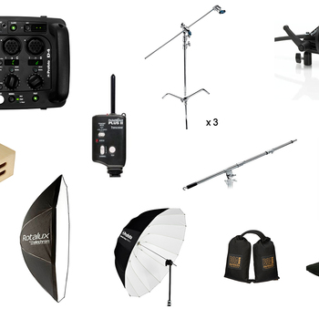 Rent Profoto D4 2400 Pack + 3 Heads & MORE - Full Kit