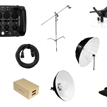 Rent Profoto D4 2400 Pack + 1 Head & More - Simple Kit