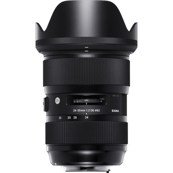 Rent Sigma 24-35mm f/2 DG HSM Art Lens for Canon EF
