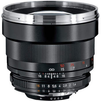 Rent Zeiss Planar T* 85mm f/1.4 ZF.2 Lens for Nikon F-Mount