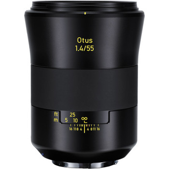 Rent Zeiss 55mm f/1.4 Otus Distagon T* Lens for Canon EF Mount