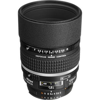 Rent Nikon AF DC-NIKKOR 105mm f/2D Lens