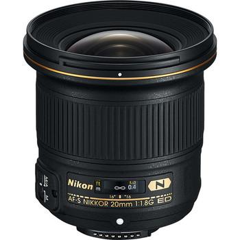 Rent Nikon AF-S NIKKOR 20mm f/1.8G ED