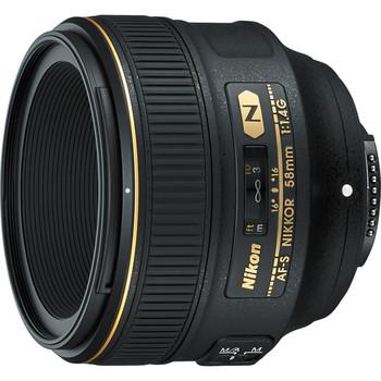Rent Nikon AF-S NIKKOR 58mm f/1.4G Lens