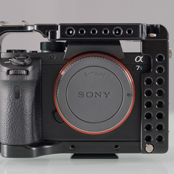 Rent Sony A7S II - Cage, handle, and more