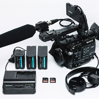 Rent Sony PXW-FS5  Run and Gun Kit with EF Metabones Adaptor (RAW Enabled)