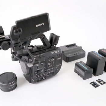Rent Sony FS5 with EF Adapter