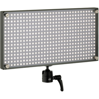 Rent Genaray 13'' LED Panel Lights x 3 with Daylight/Tungsten Filters and 6' Stands