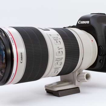 Rent Canon 5D Mark III / Canon EF 70-200 mm lens