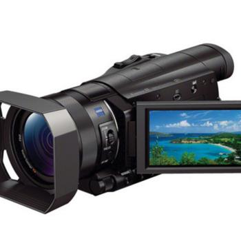 Rent Sony FDR AX100 4k Ultra HD video camera