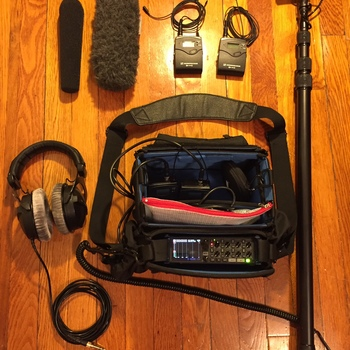 Rent Field Mixing Small Bag: Zoom F8, MKH 416 shotgun mic and Sennheiser G3 wireless lavaliers