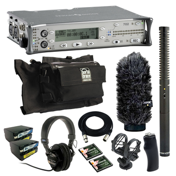Rent Sound Devices 702 (w/ Batteries, Mic, Case)