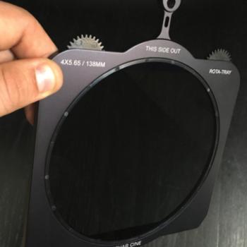 "Rent 4x5.6"" Rota-Polarizer filter"