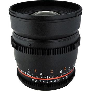 Rent New DS Rokinon 16mm Cine Lens