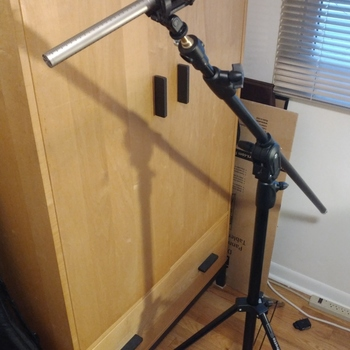 Rent Rode NTG3 Shotgun Mic + Manfrotto 420B Combination Boom/Stand
