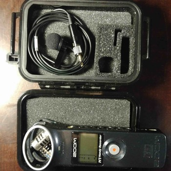 Rent Oscar Sound Tech 801 Lavalier Mic + Zoom H1