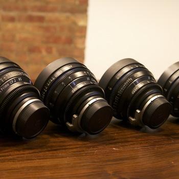 Rent Zeiss Compact Prime CP2 T2.1 - 4 Lens Set (25, 35, 50, 85)