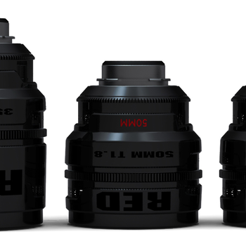 Rent Set of 5 RED Pro Primes (25, 35, 50, 85, 100mm) PL Mount