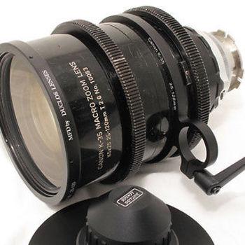 Rent Canon 25-120 T2.8 PL K35 Vintage Macro Zoom