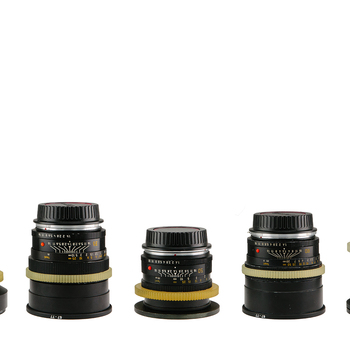 Rent Set of 7 Leica Lenses CineStyle (19,24,28,35,50,80,135mm)