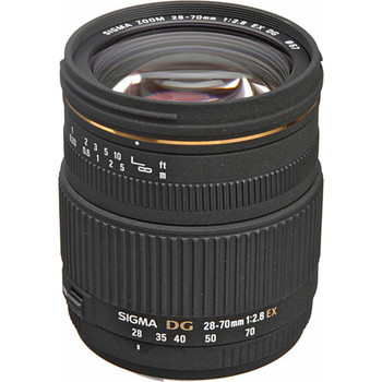 Rent Sigma 28-70mm Camera Lens