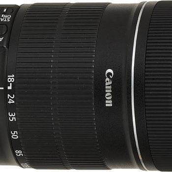 Rent Canon 18-135mm Camera Lens