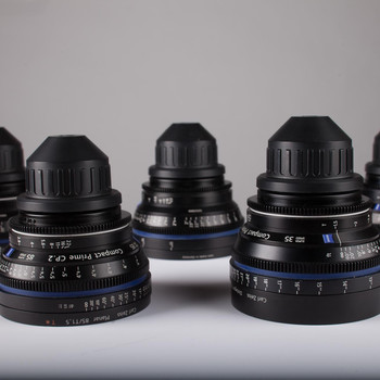 Rent Zeiss CP2 Super Speed 5 Lens Set