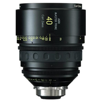 Rent ARRI Zeiss MasterPrime 40mm T1.3 PL-Mount