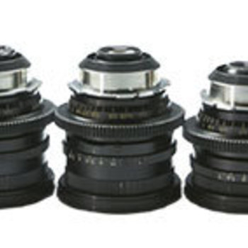 Rent Set of 5 Zeiss 16mm Format Lenses PL Mount (9.5,12,16,25,50mm)