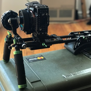 Rent Sony A7RII PL Mount, Shoulder Rig, Follow Focus, Pelican case and more! FULL PACKAGE