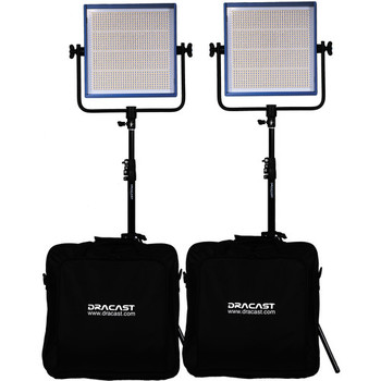 Rent Dracast LED 1000 Pro Daylight 2 x Light Kit