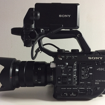Rent Sony FS5 Kit Lens or Speedbooster EF