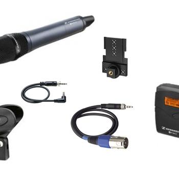 Rent Sennheiser ew 100 G3 Wireless Handheld Microphone (gelato)