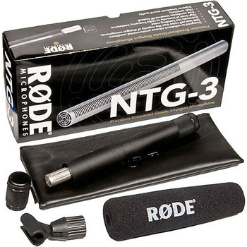 Rent Rode NTG3 Precision RF-Biased Shotgun Microphone
