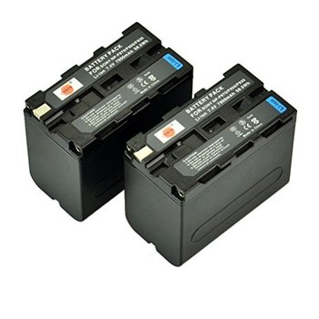 Rent Batteries/Power 2 Li-ion NP-F970 Battery for Sony + Charger