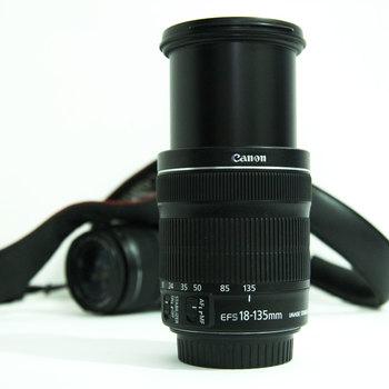 Rent CANON EFS 18-135 mm MACRO 0.39 mm/1.3 ft