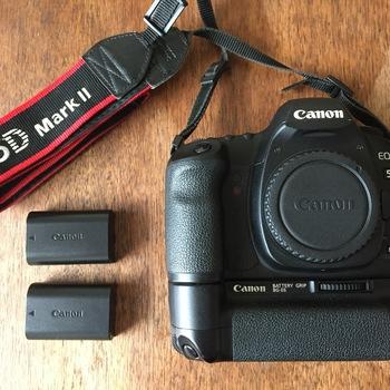 Rent Canon 5D Mark II w/ Battery Grip
