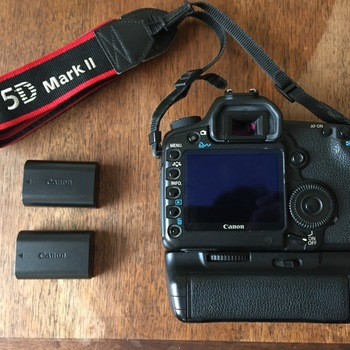 Rent 5D Mark II w/ Battery Grip + Lens + Flash + Bag