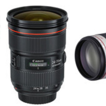 Rent Triple Canon Lens Kit