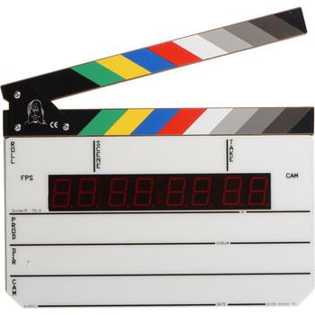 Rent Denecke TS-3 Time Code Slate - Color Clapper, EL Backlit Display